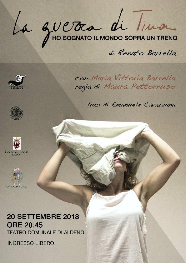 La guerra di Tina - spettacolo di Renato Barrella