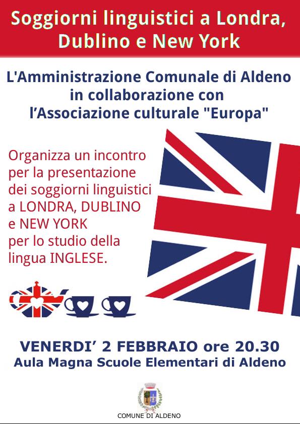 Soggiorni linguistici a Londra, Dublino e New York / Eventi dal ...